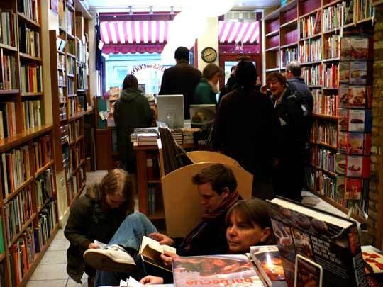 A Tour of London's Bookshop Café Books for Cooks: gallery image 2