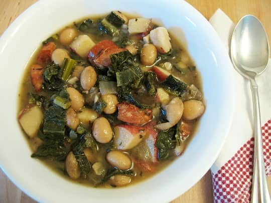 Recipe Hearty Kale And Sausage Soup Kitchn