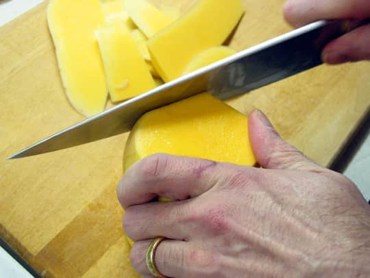 How To Peel Squash: An Easier Way: gallery image 5
