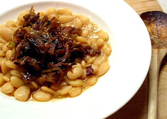 Recipe: Florida Butter Beans with Caramelized Onions and Bacon: gallery image 8