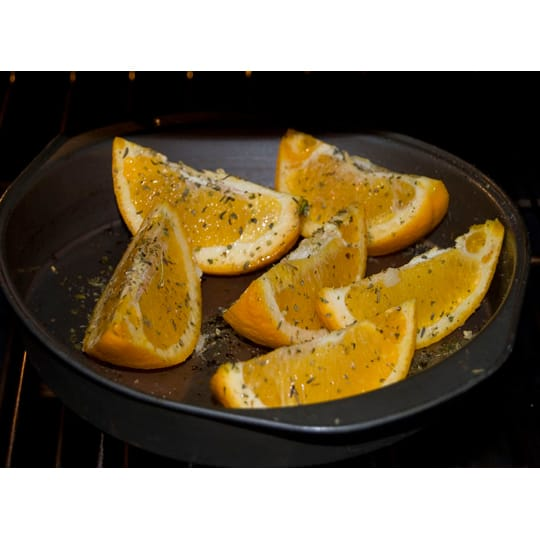 New Idea: Roasted Orange Wedges with Herbs: gallery image 1