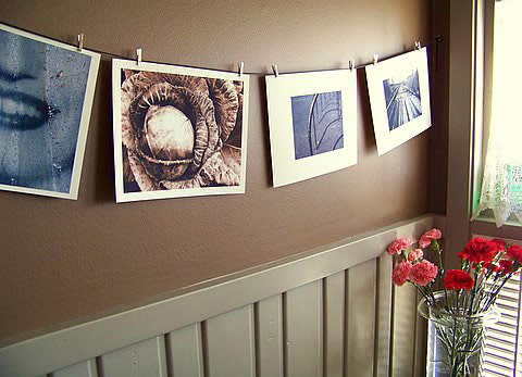 Ten Things I Love: Renee's Kitchen Flowers and Art: gallery image 1