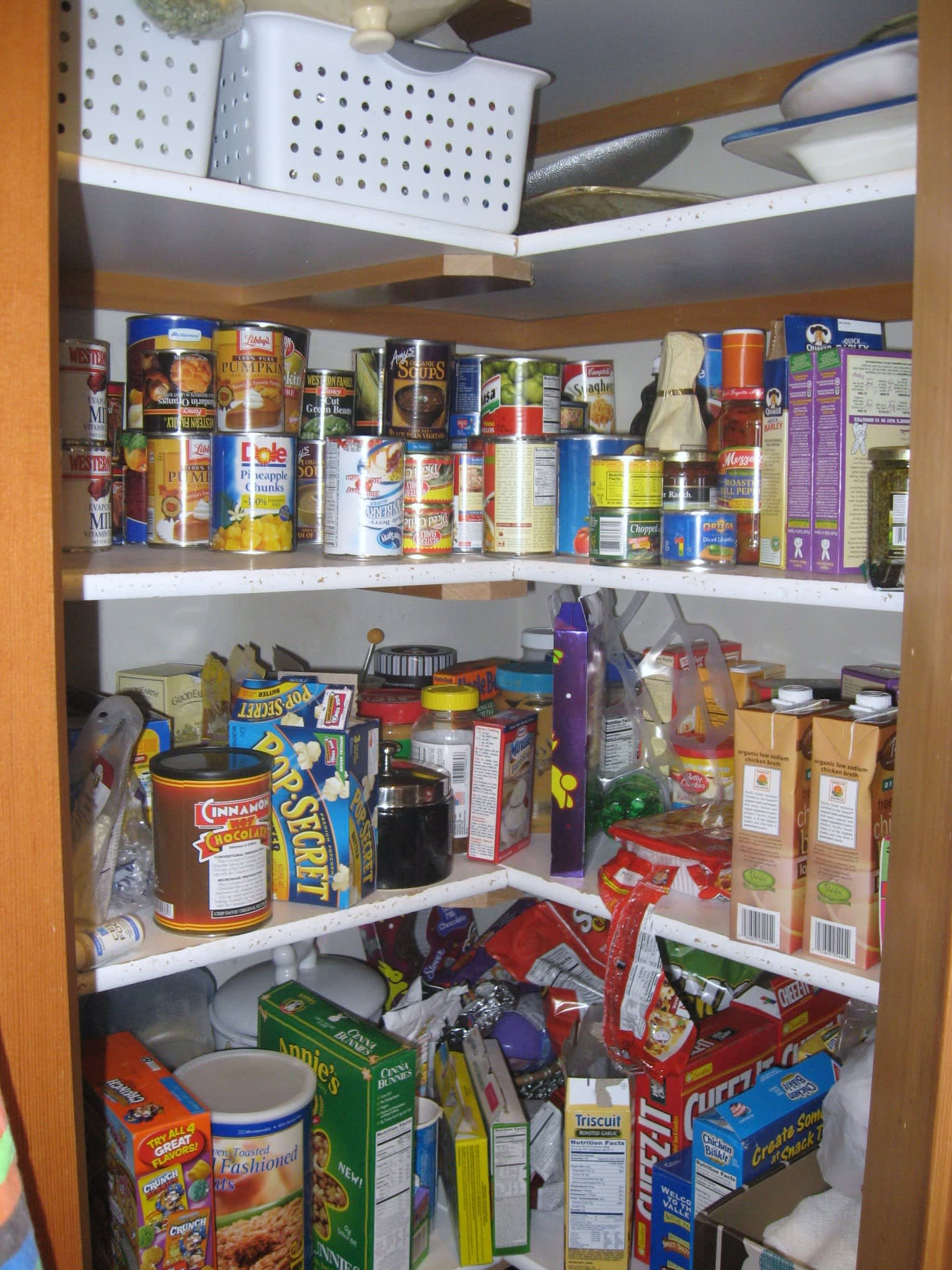 Kitchen Cure Check-In: Pantry and Fridge Before-&-Afters: gallery image 1
