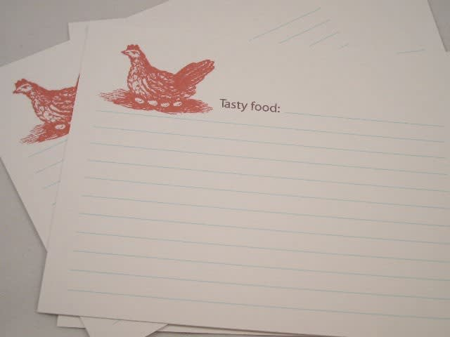 Good Idea: Printable Recipe Card Templates: gallery image 7
