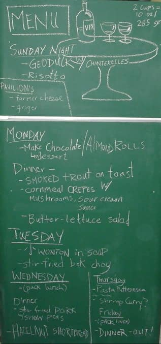 My Chalkboard Fridge: Turn Your Fridge Into a Food Diary Guest Post from Chichi of My Chalkboard Fridge: gallery image 1