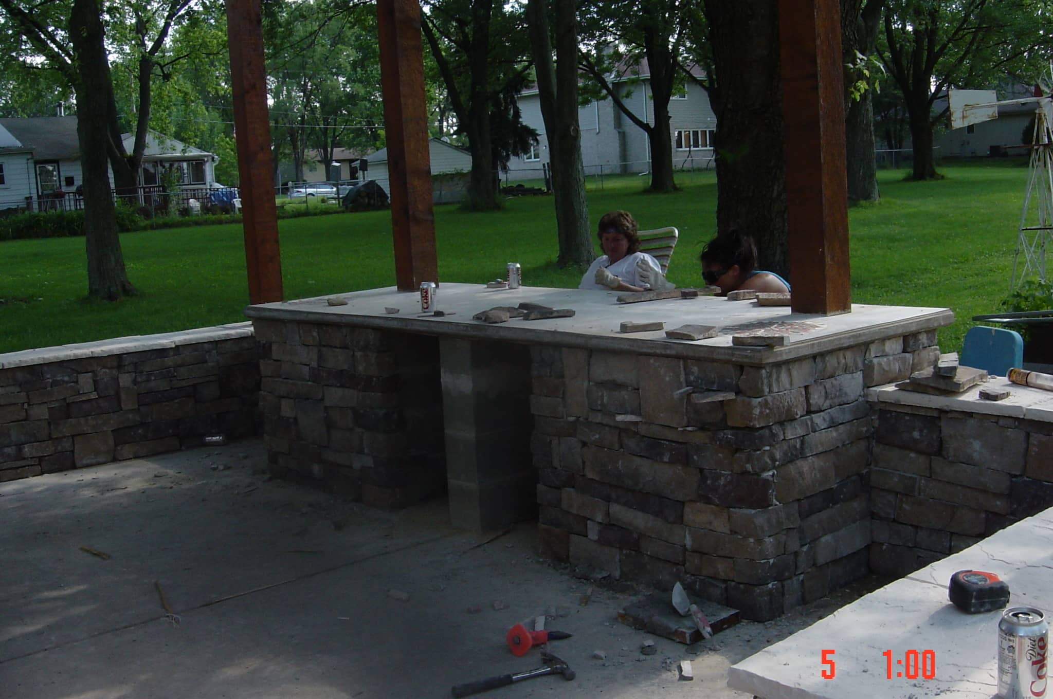My Great Outdoors: Paula's Pizza Patio Makeover: gallery image 3