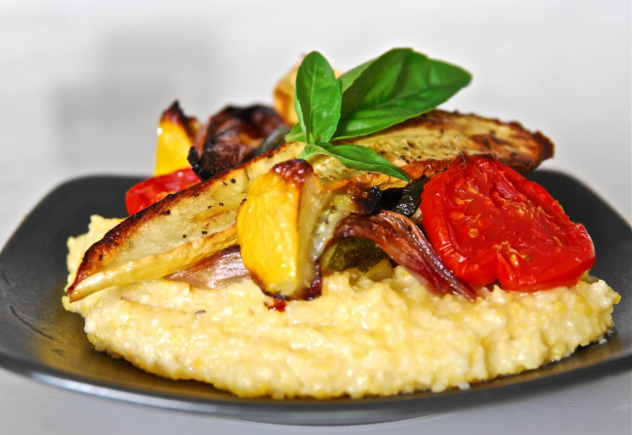 Jean's Roasted Vegetables on Creamy Polenta Quick Weeknight Meals Recipe Contest 2009: gallery image 2