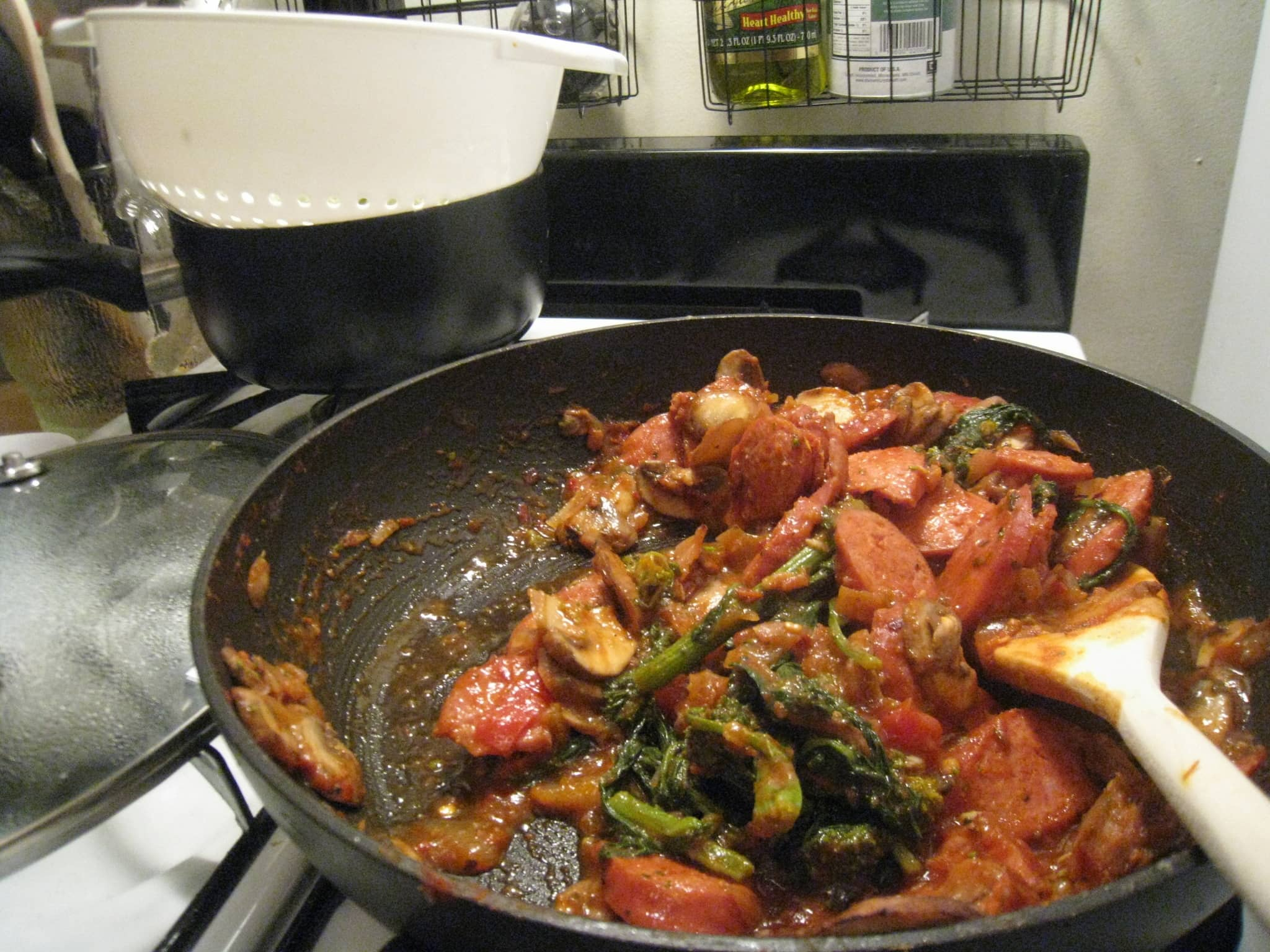 Michelle's Spicy Kielbasa Pasta Quick Weeknight Meals Recipe Contest 2009: gallery image 5