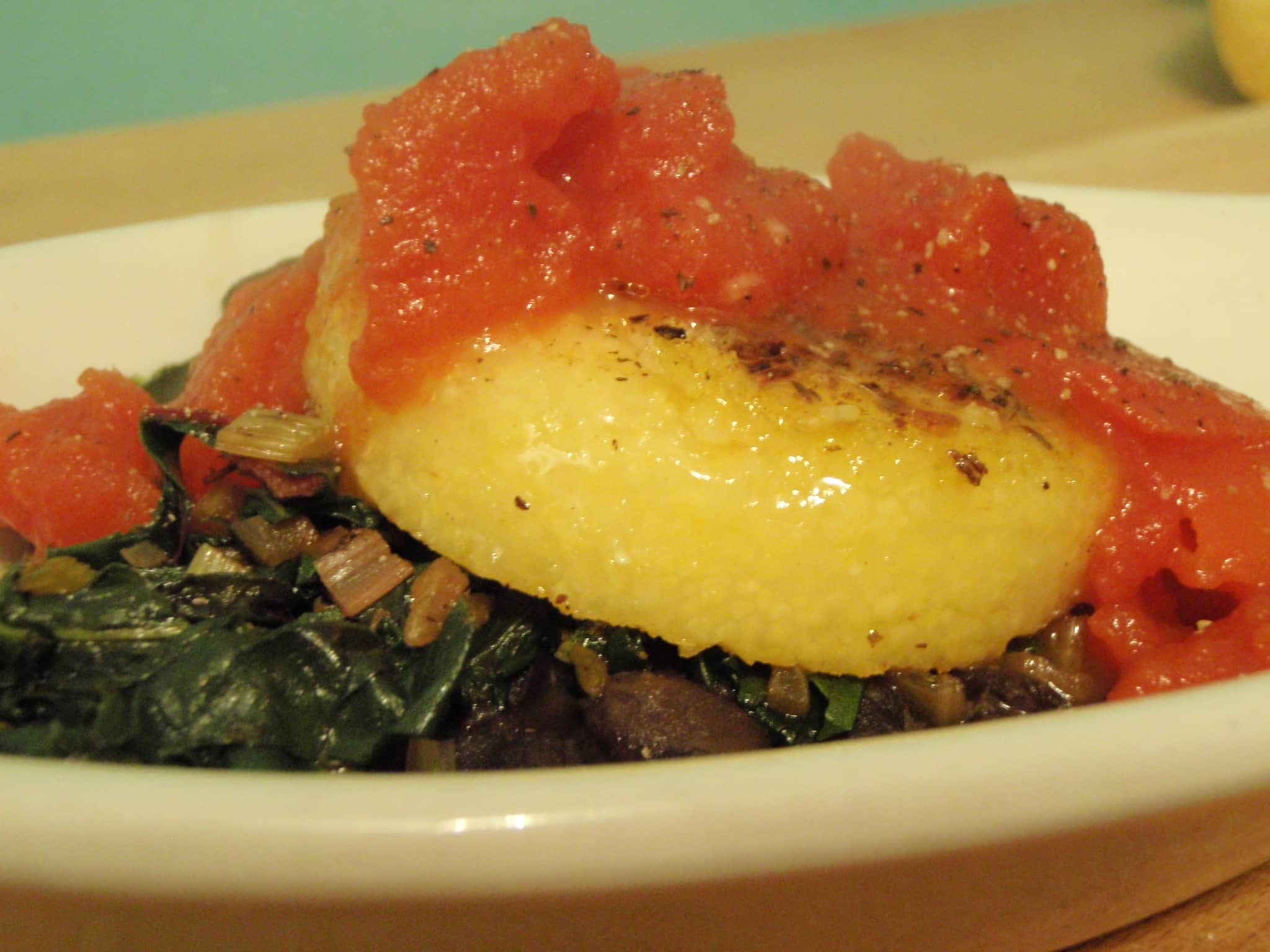 Breanne's Polenta with Black Beans and Coconut Tomato Quick Weeknight Meals Recipe Contest 2009: gallery image 1