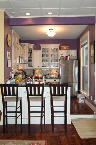 Color Over Your Head! A Gallery of Kitchen Ceilings: gallery image 7