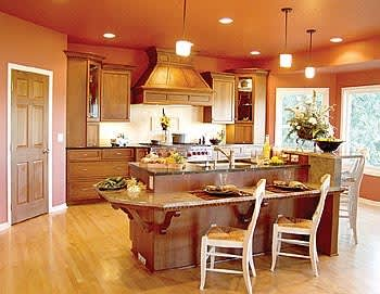 Color Over Your Head! A Gallery of Kitchen Ceilings: gallery image 3