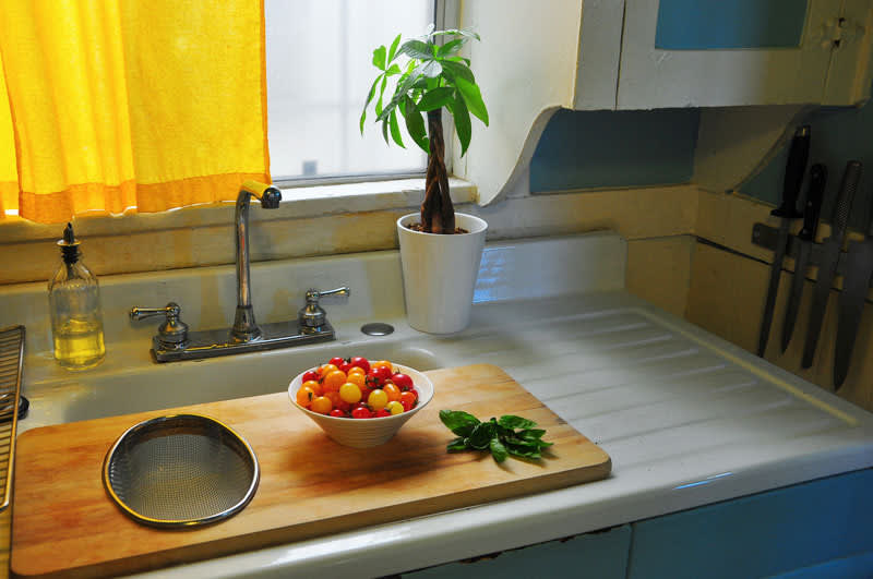 Kitchen Tour: Gregory and Emily's Colorful Kitchen: gallery image 4