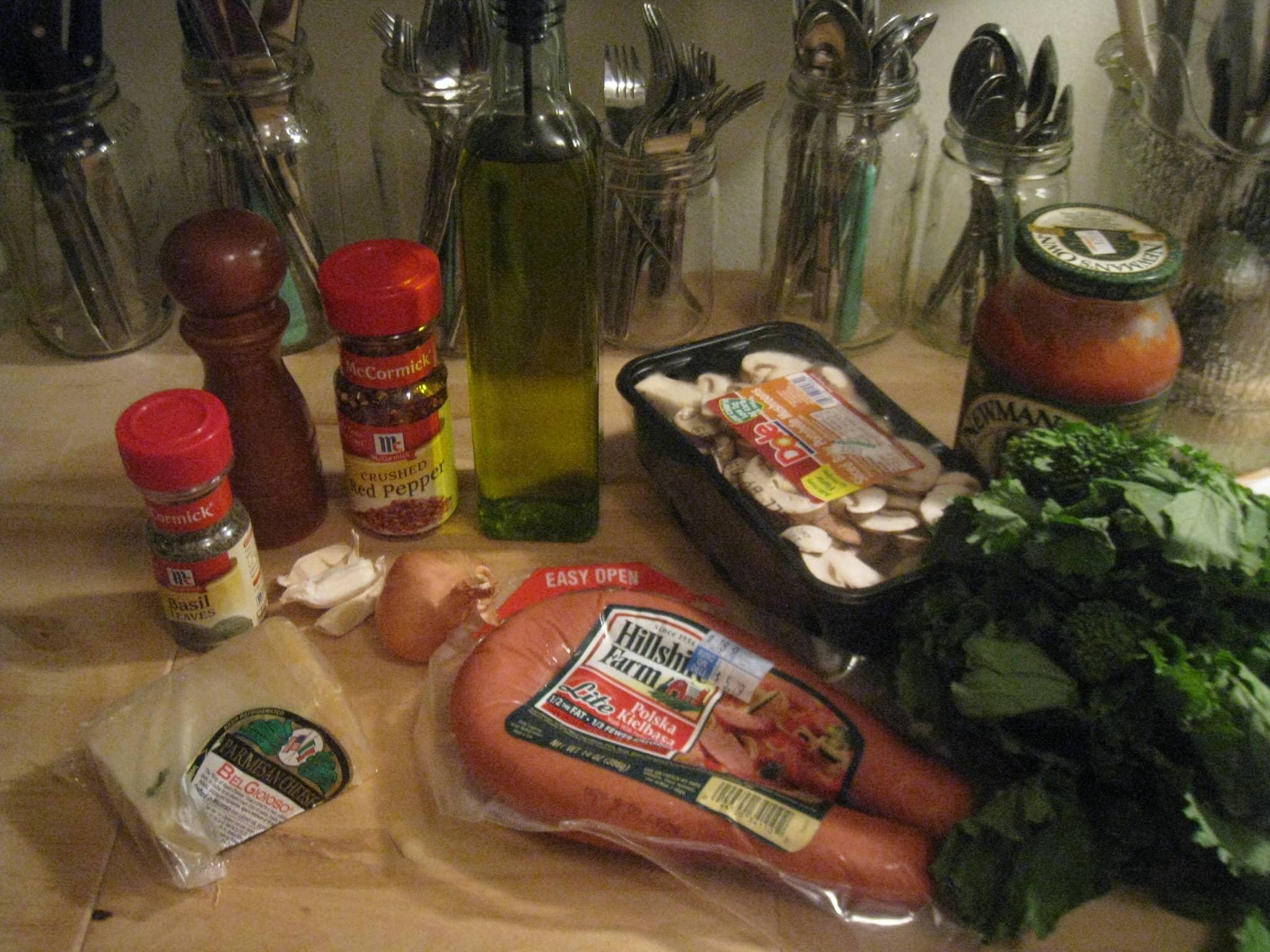 Michelle's Spicy Kielbasa Pasta Quick Weeknight Meals Recipe Contest 2009: gallery image 2
