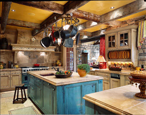 Color Over Your Head! A Gallery of Kitchen Ceilings: gallery image 6
