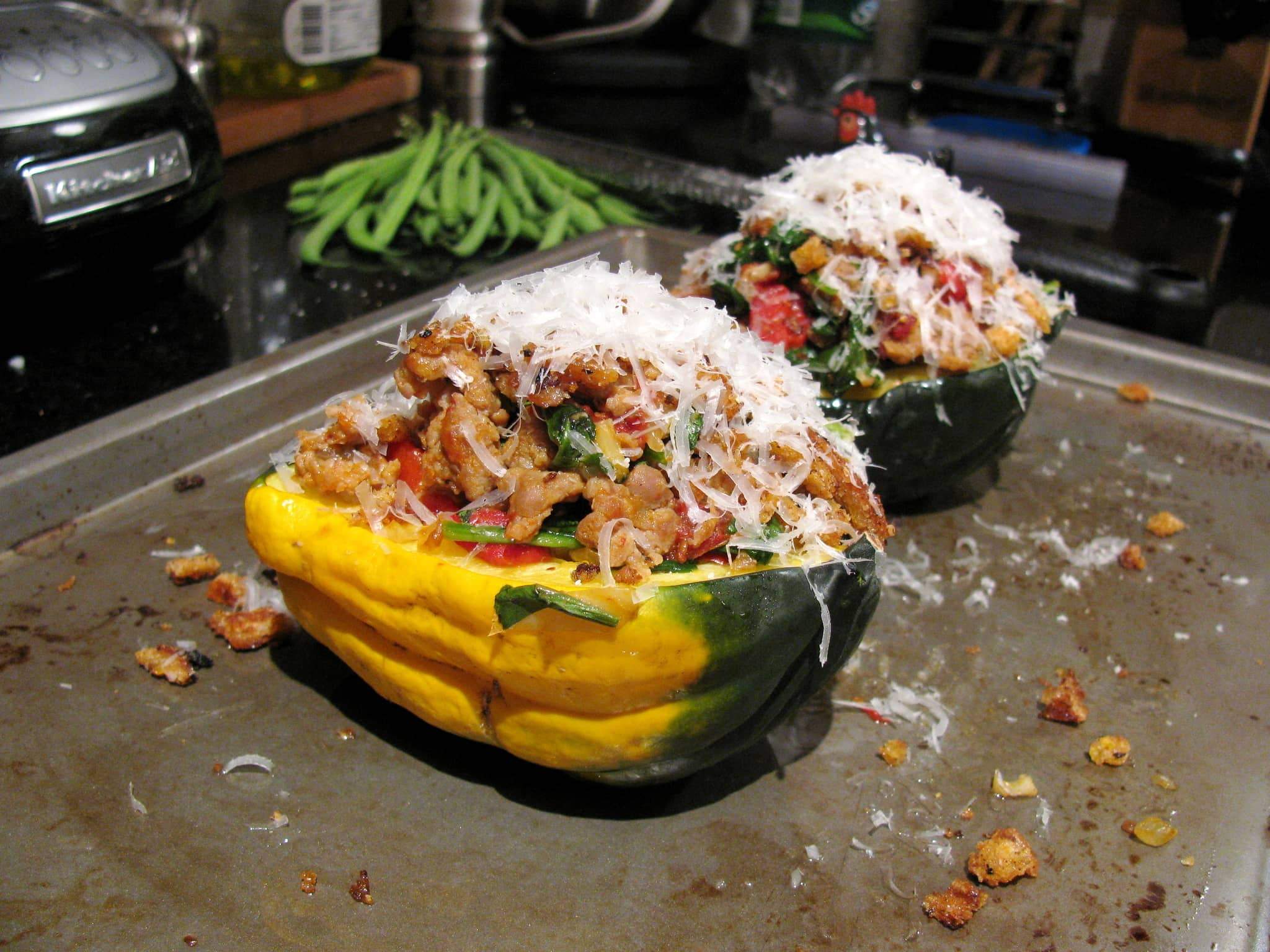 Sara's Italian Sweet and Savory Squash Bowls Quick Weeknight Meals Recipe Contest 2009: gallery image 3