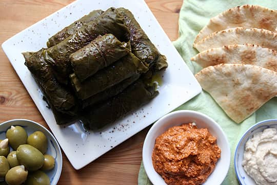 How To Make Your Own Dolmas (Stuffed Grape Leaves): gallery image 1