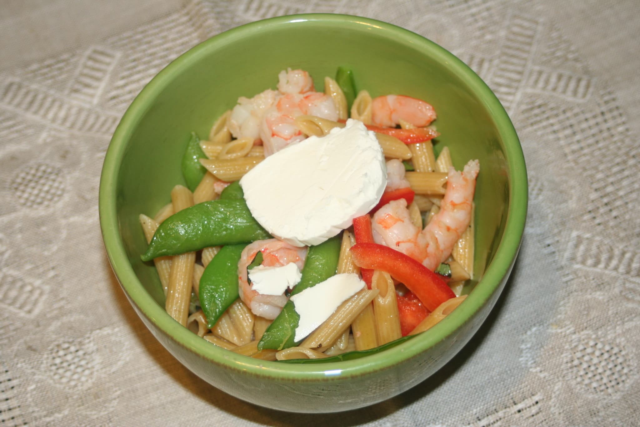 Amy's Penne with Shrimp and Goat Cheese Quick Weeknight Meals Recipe Contest 2009: gallery image 1
