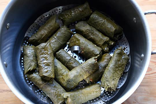 How To Make Your Own Dolmas (Stuffed Grape Leaves): gallery image 6