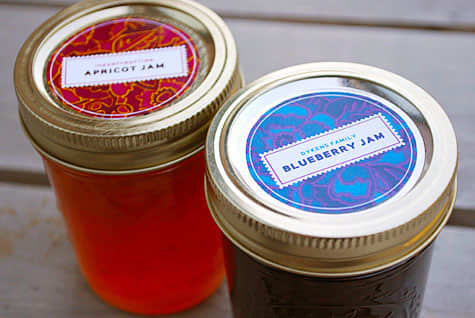 Decorate Your Jars! Five Lovely Canning Label Templates: gallery image 1