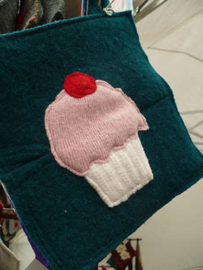 Handmade Recycled Potholders: Fat Tomato Designs: gallery image 6