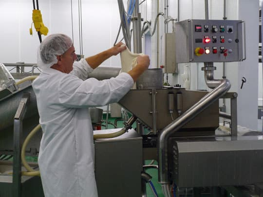 Making Mozzarella at Crave Brothers Farmstead CheeseWaterloo, Wisconsin: gallery image 2