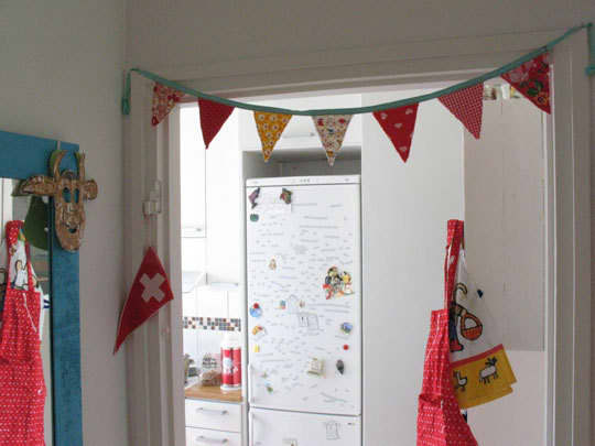 Color Splash: Decorating with Bunting: gallery image 2