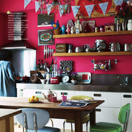Color Splash: Decorating with Bunting: gallery image 3