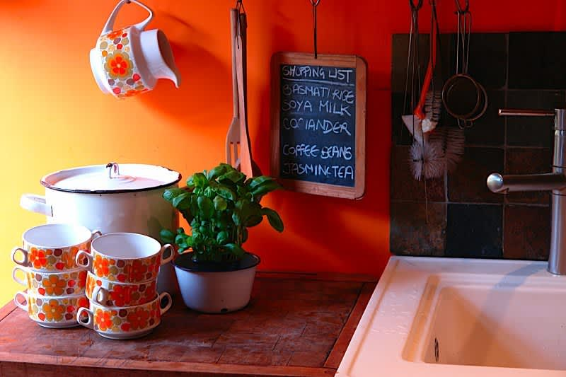 Kitchen Tour: Adelle and Justin's British Retro Modern: gallery image 3