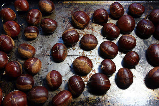 Tip: How To Roast and Peel Chestnuts: gallery image 2