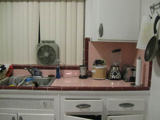 Kitchen Makeover: Anna's Troublesome (Or Not) Pink Tile: gallery image 1