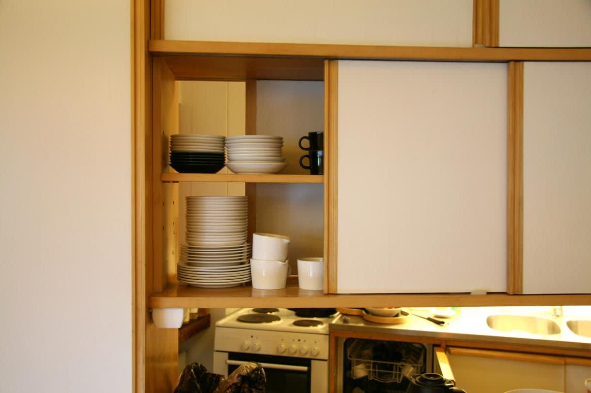 Alvar Aalto's Spare and Simple Studio Kitchen: gallery image 1