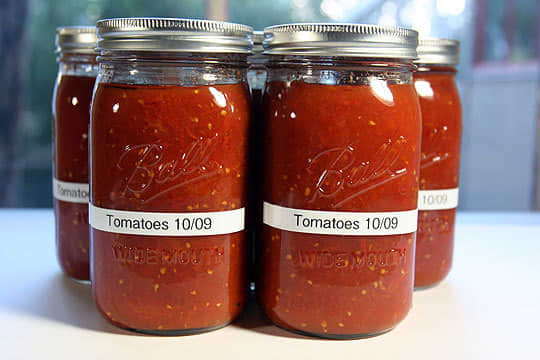 Home Canning Project: Roasted and Canned Tomatoes: gallery image 1