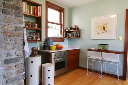 Christen Carter's Bright and Serene Chicago Kitchen: gallery image 13