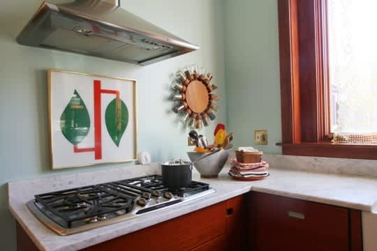 Christen Carter's Bright and Serene Chicago Kitchen: gallery image 9