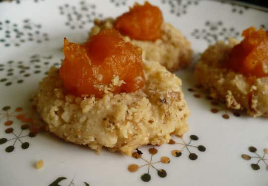 Holiday Cookies: Thumbprints with Pumpkin Marmalade: gallery image 4