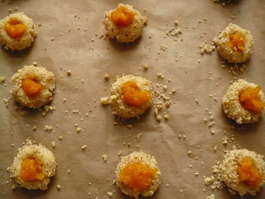 Holiday Cookies: Thumbprints with Pumpkin Marmalade: gallery image 3