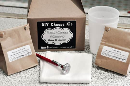 DIY Kit: Make Your Own Goat Cheese!: gallery image 2