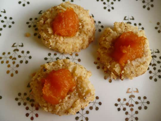 Holiday Cookies: Thumbprints with Pumpkin Marmalade: gallery image 1