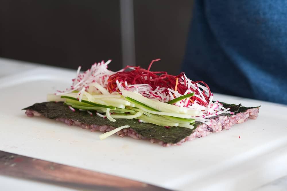 Making Colorful Sushi with Rham Fenton of Ramasushi: gallery image 4