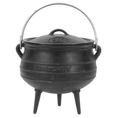 Cast Iron Cookware: Enameled or Bare: gallery image 2