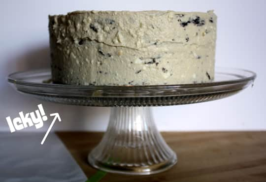 How To Make A Chocolate Cake Collar: gallery image 4