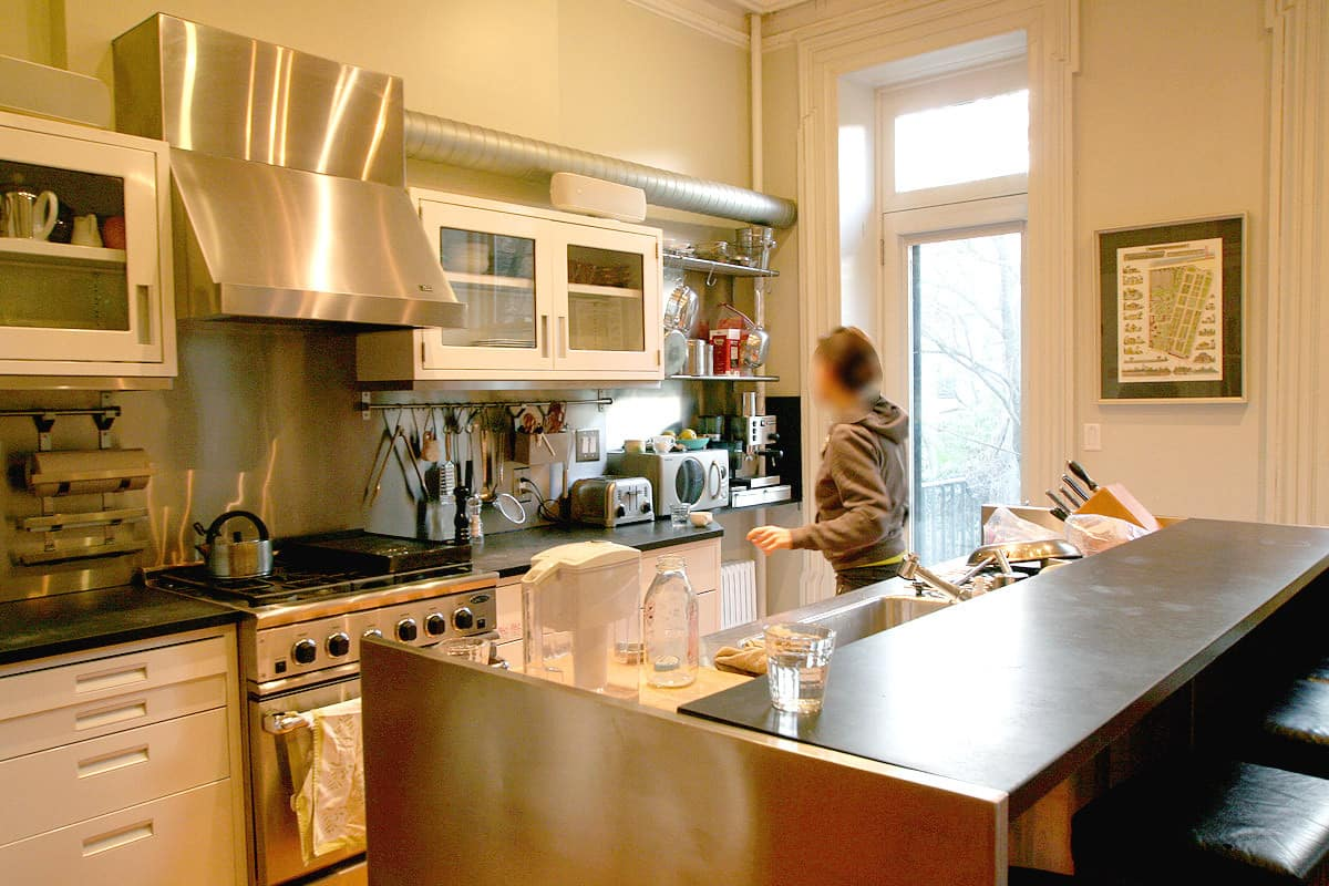 Kitchen Tour: Derek's Industrial Strength Cozy Kitchen: gallery image 1