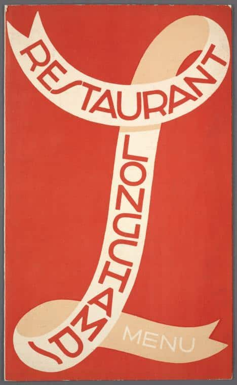 Print and Hang! Menus from the New York Public Library: gallery image 1