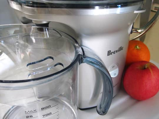Product Review: Breville Juice Fountain Compact: gallery image 3
