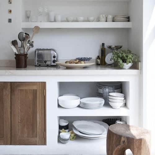 Kitchen Gallery: Bright White + Warm Wood: gallery image 1