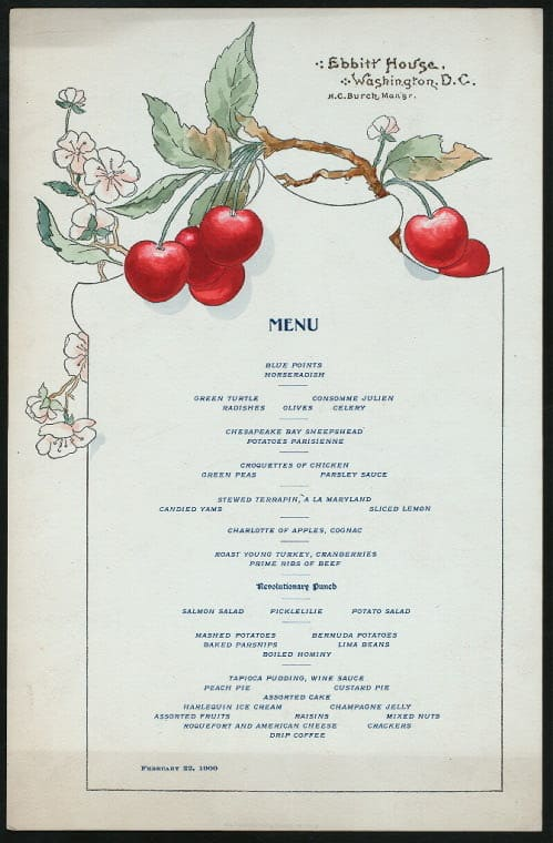 Print and Hang! Menus from the New York Public Library: gallery image 6