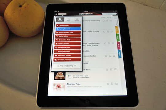 iPad: First Impressions and the Epicurious App: gallery image 2