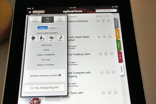 iPad: First Impressions and the Epicurious App: gallery image 3