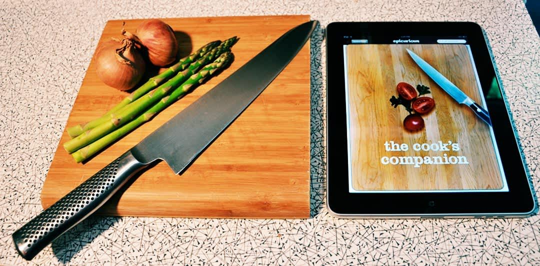 iPad: First Impressions and the Epicurious App: gallery image 1