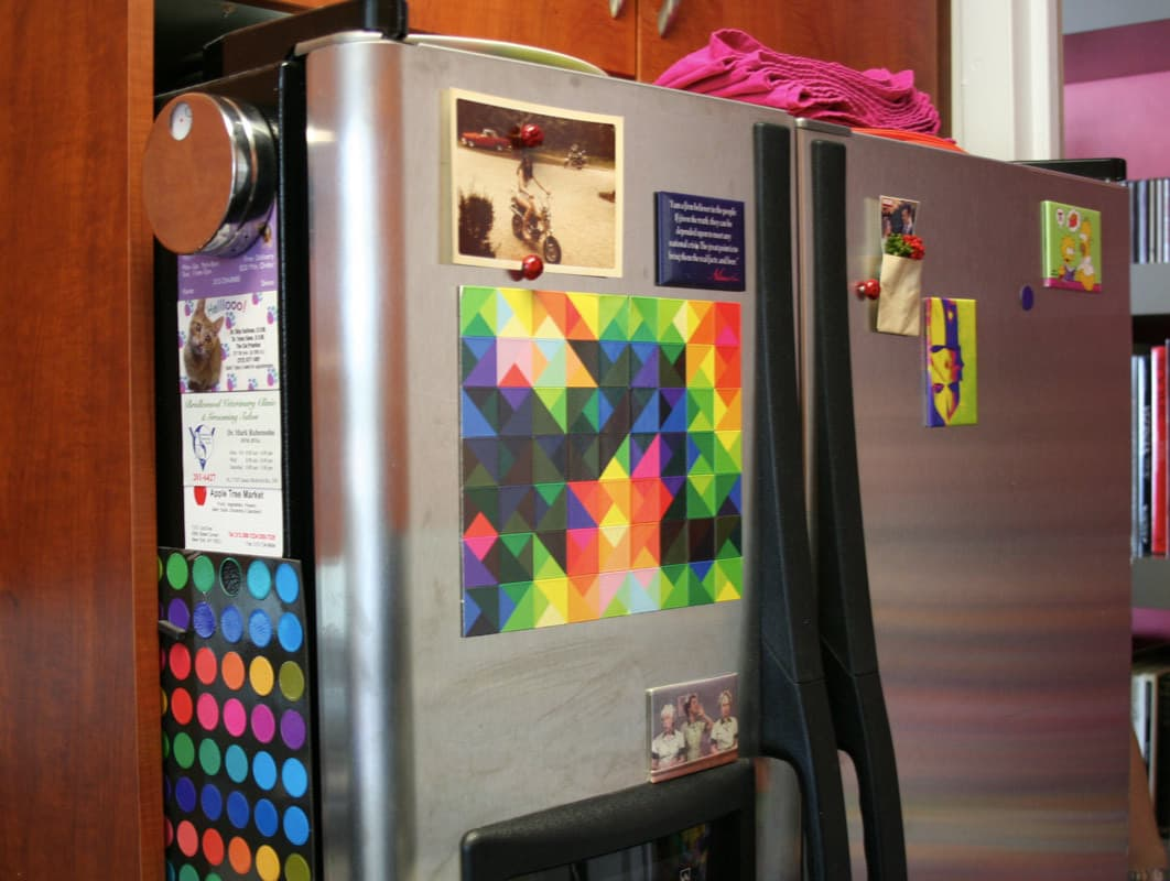 Kitchen Tour: Gillian's Stealthy but Colorful Kitchen: gallery image 9